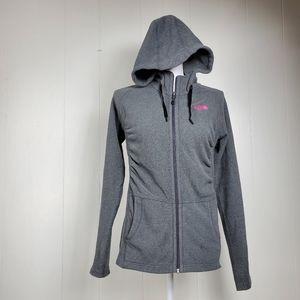 The North Face polartec fleece breastcancer jacket